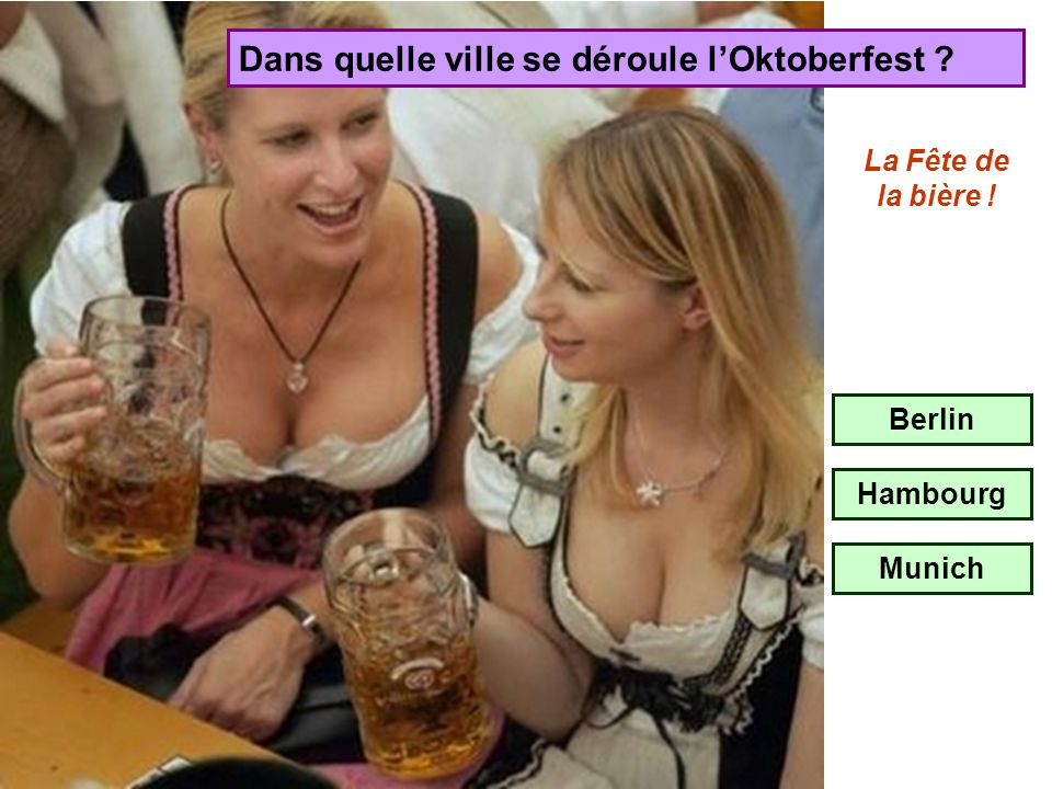 Dans quelle ville se déroule l'Oktoberfest
