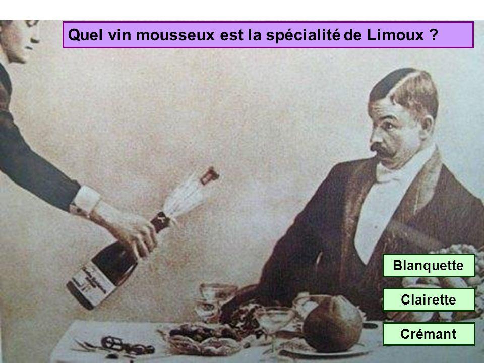 Quel vin mousseux est la spécialité de Limoux