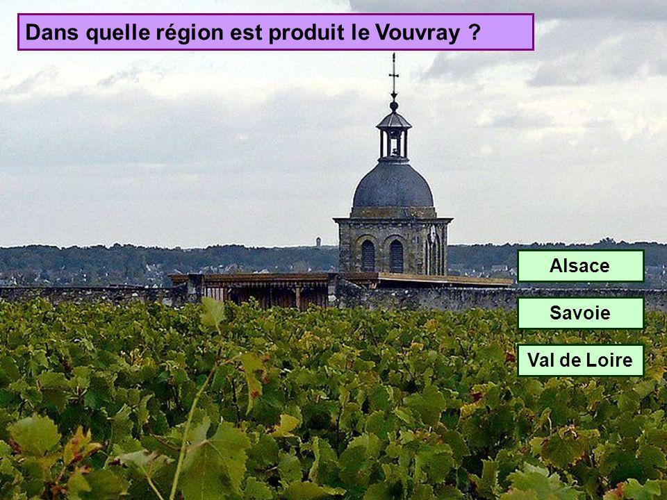 Dans quelle région est produit le Vouvray