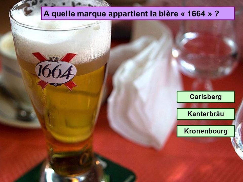 A quelle marque appartient la bière « 1664 »