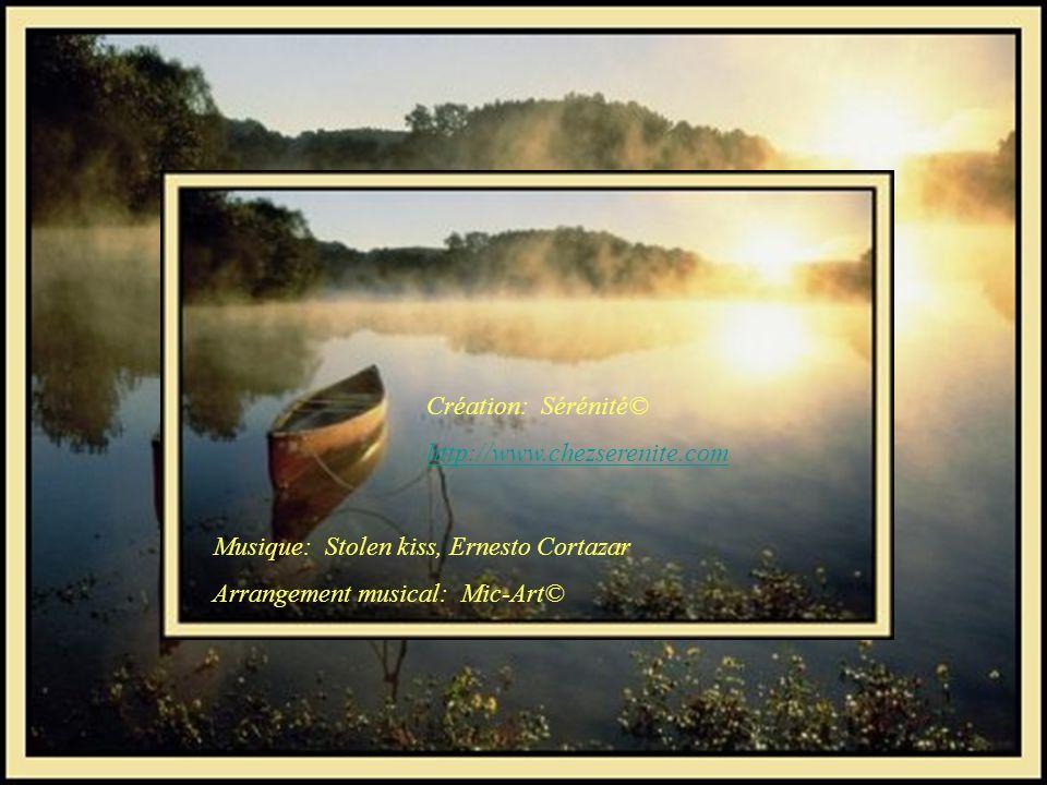 Création: Sérénité© http://www.chezserenite.com. Musique: Stolen kiss, Ernesto Cortazar.