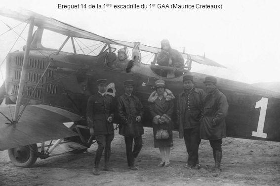 Breguet 14 de la 1ère escadrille du 1er GAA (Maurice Creteaux)