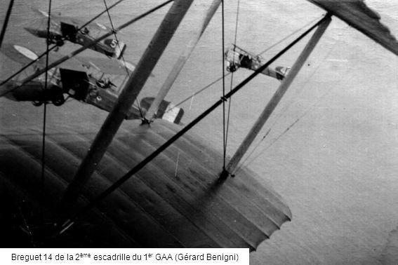 Breguet 14 de la 2ème escadrille du 1er GAA (Gérard Benigni)