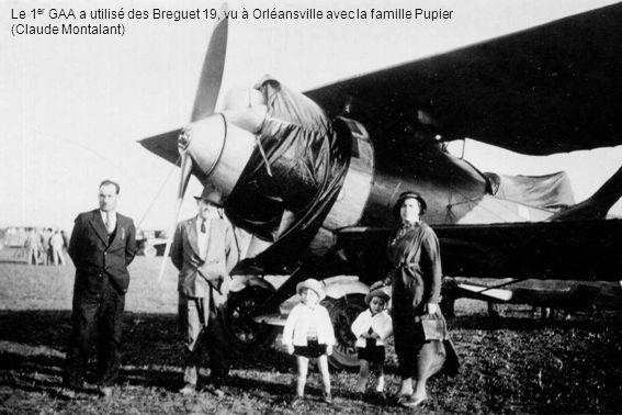 Le 1er GAA a utilisé des Breguet 19, vu à Orléansville avec la famille Pupier