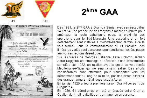 2ème GAA 543. 548.