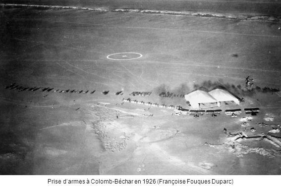Prise d'armes à Colomb-Béchar en 1926 (Françoise Fouques Duparc)