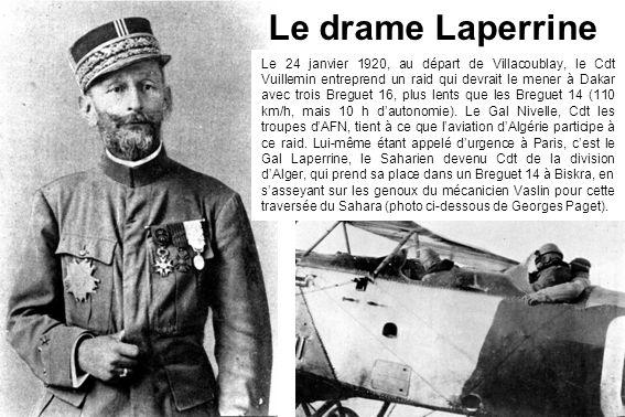 Le drame Laperrine