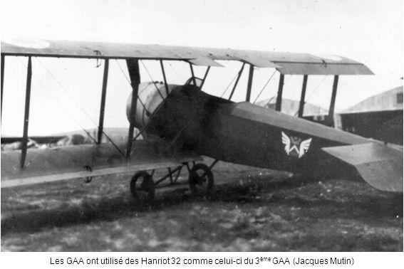 Les GAA ont utilisé des Hanriot 32 comme celui-ci du 3ème GAA (Jacques Mutin)
