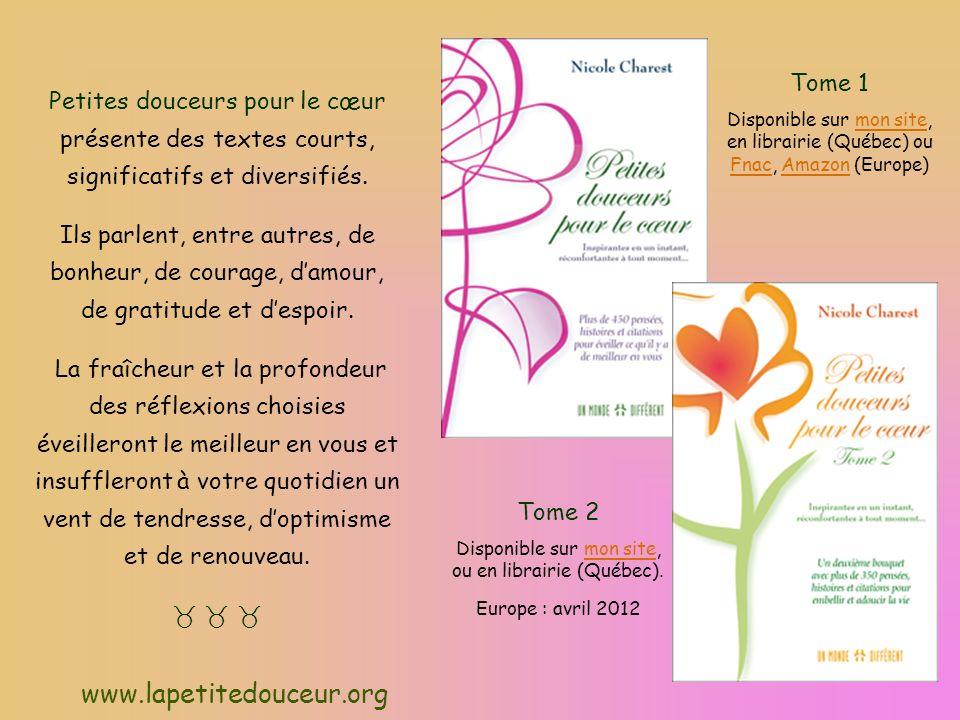 Disponible sur mon site, ou en librairie (Québec).