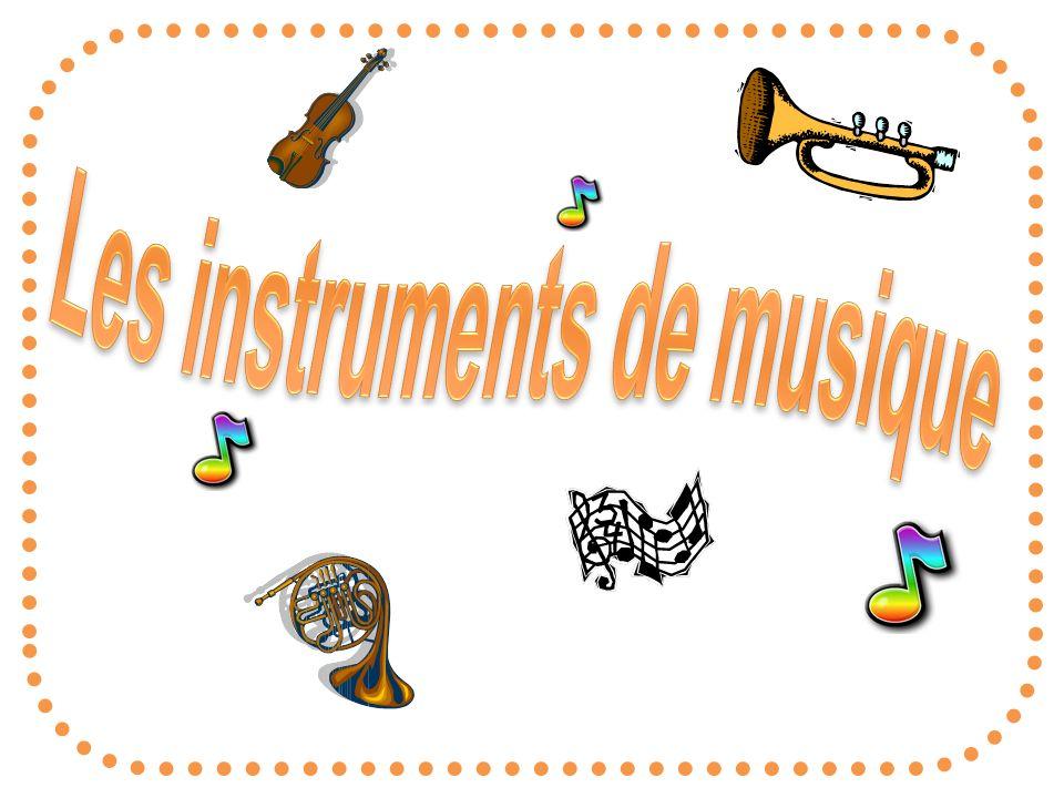 Les instruments de musique