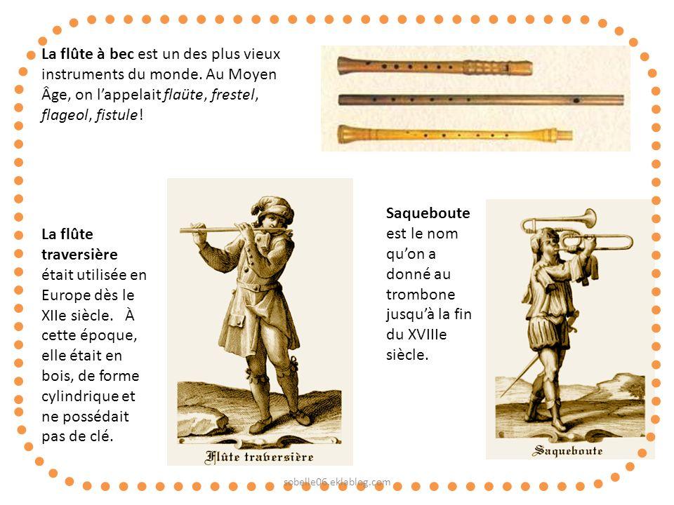 La flûte à bec est un des plus vieux instruments du monde