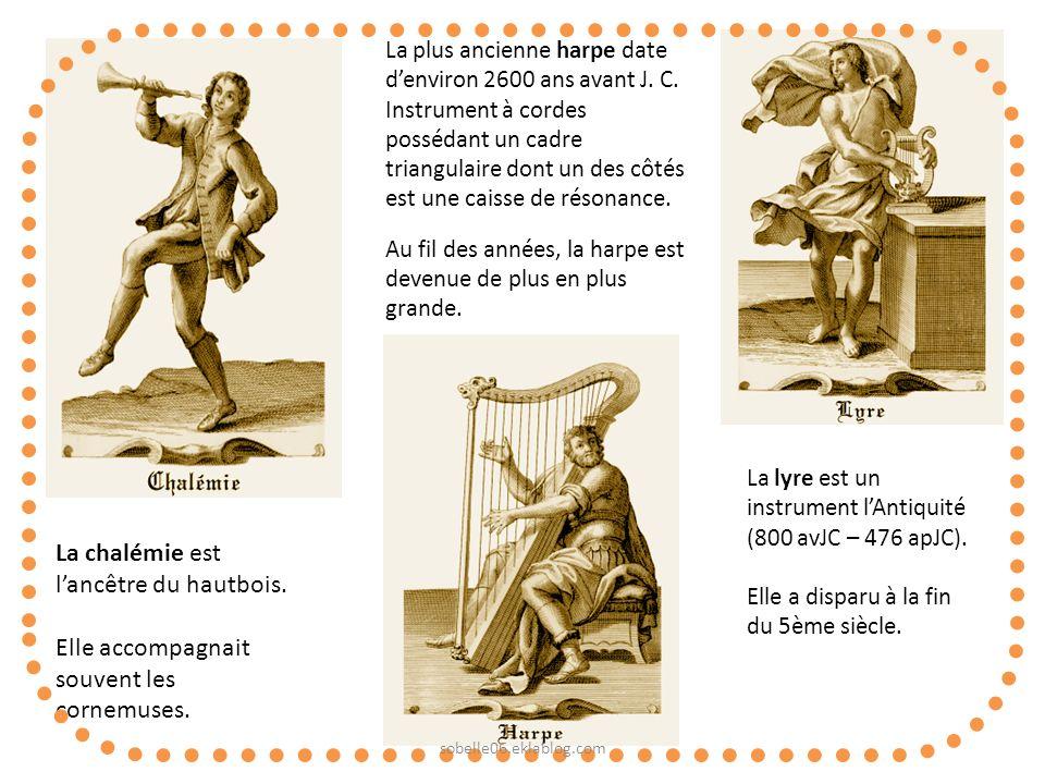 La chalémie est l'ancêtre du hautbois.
