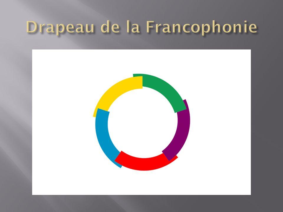 Drapeau de la Francophonie