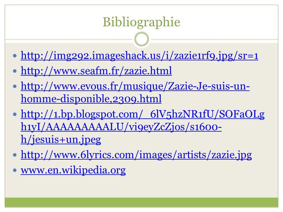 Bibliographie http://img292.imageshack.us/i/zazie1rf9.jpg/sr=1