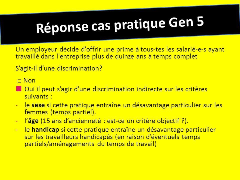 Réponse cas pratique Gen 5