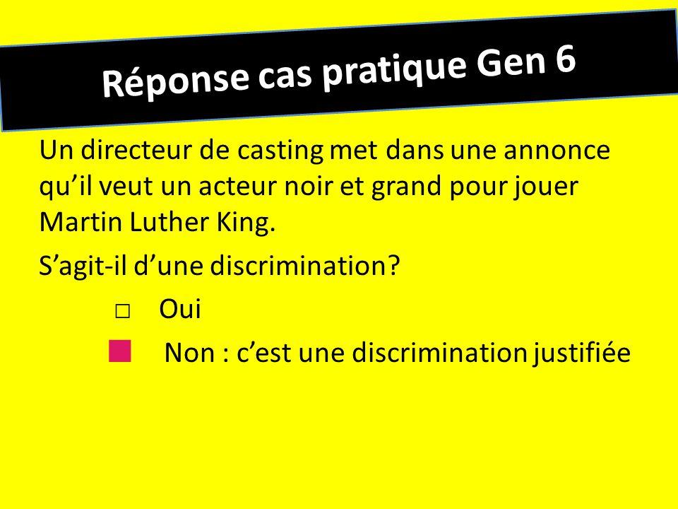Réponse cas pratique Gen 6