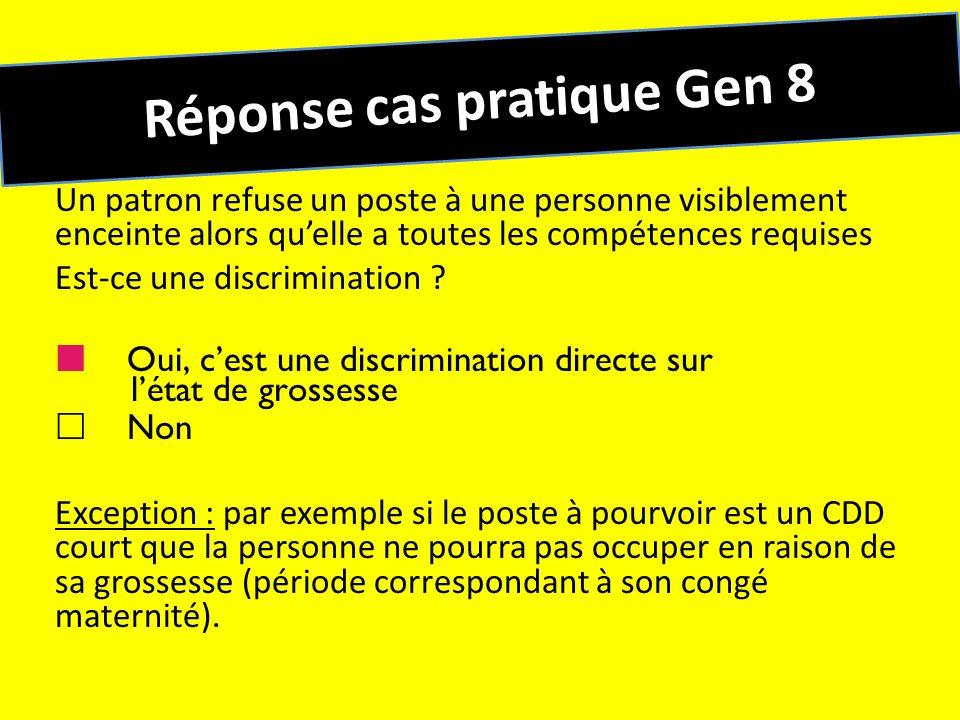 Réponse cas pratique Gen 8