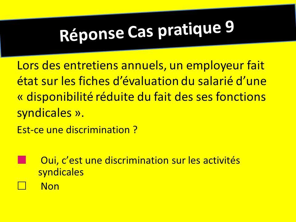 Réponse Cas pratique 9