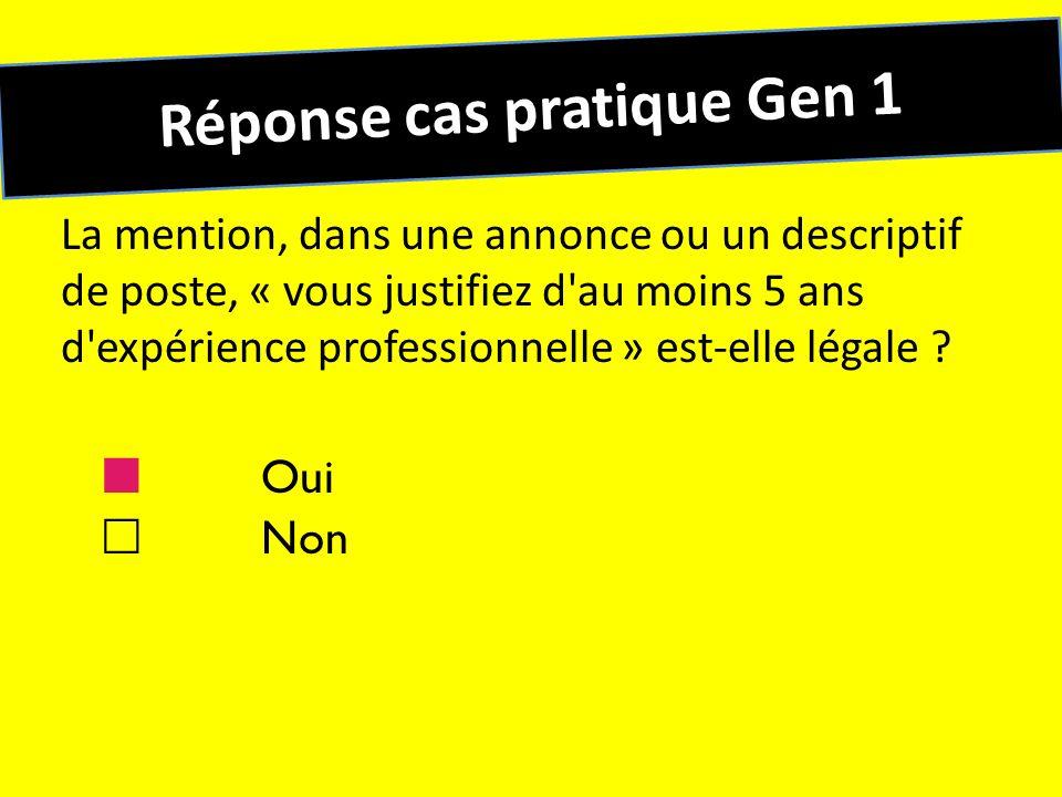 Réponse cas pratique Gen 1