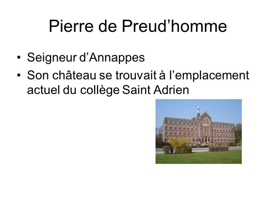 Pierre de Preud'homme Seigneur d'Annappes