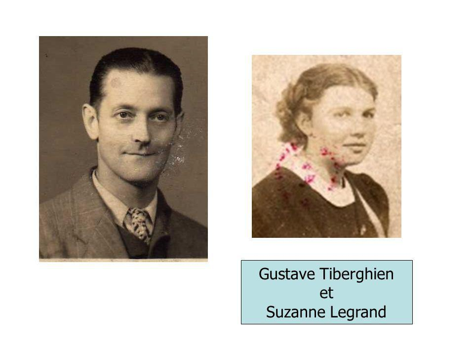 Gustave Tiberghien et Suzanne Legrand