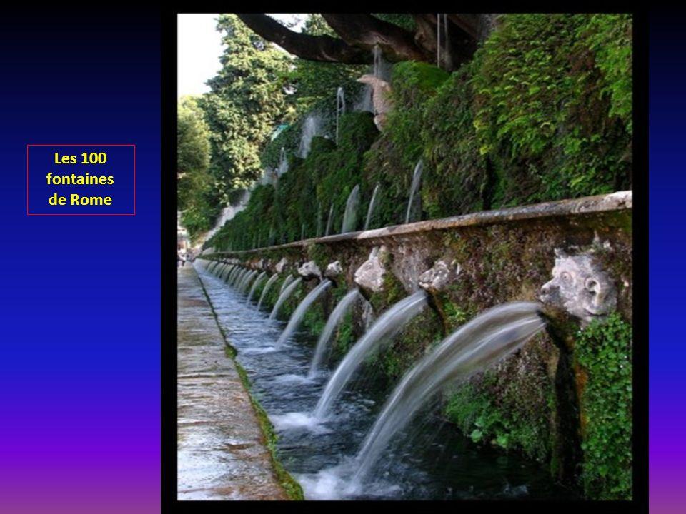 Les 100 fontaines de Rome