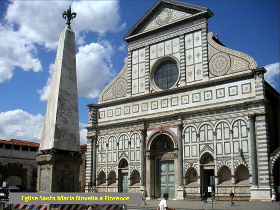 Eglise Santa Maria Novella à Florence