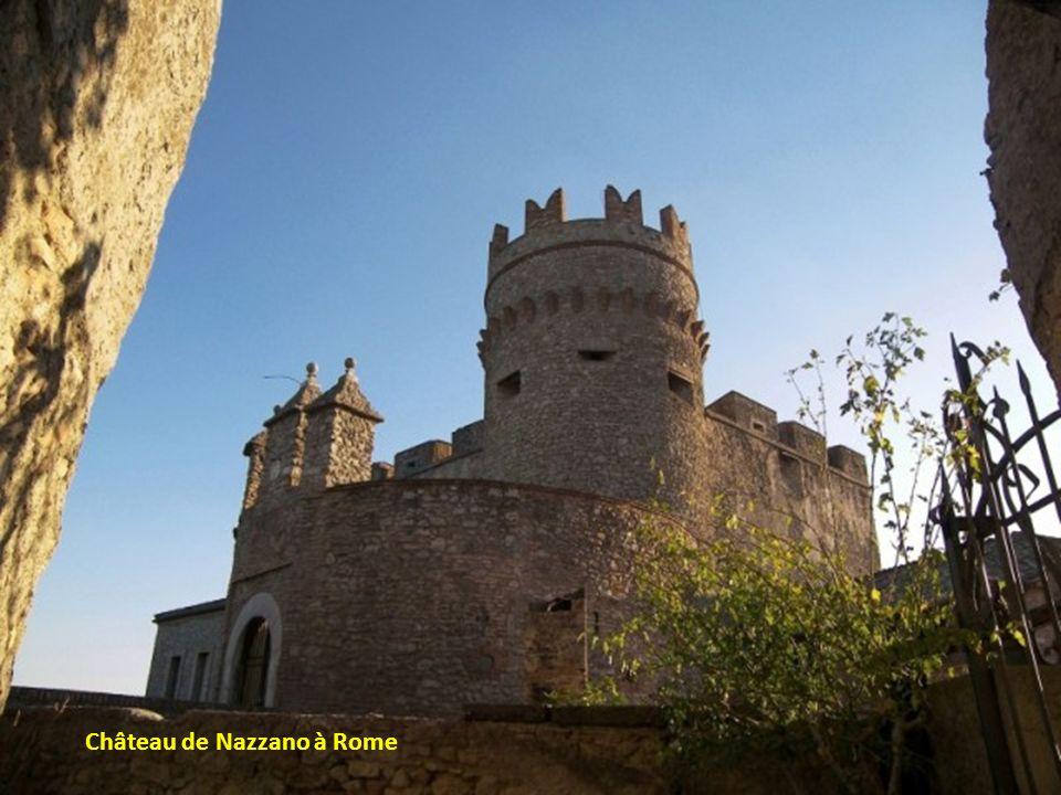 Château de Nazzano à Rome
