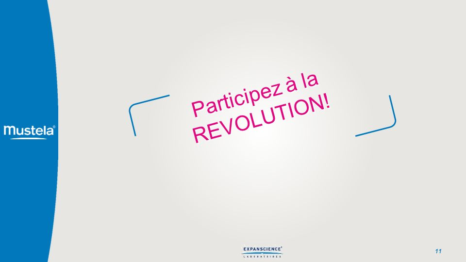 Participez à la REVOLUTION!