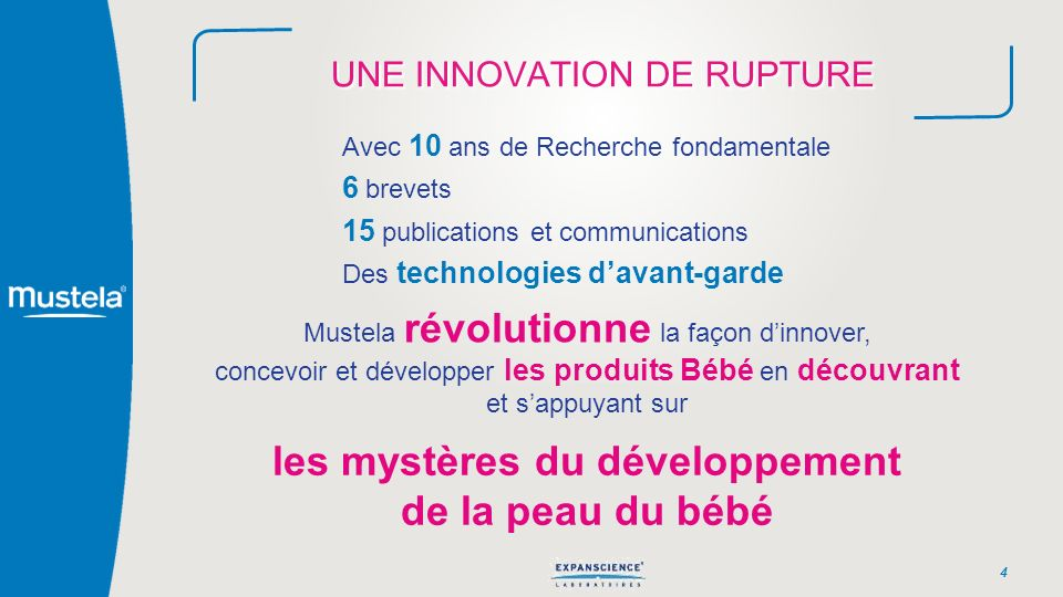 UNE INNOVATION DE RUPTURE