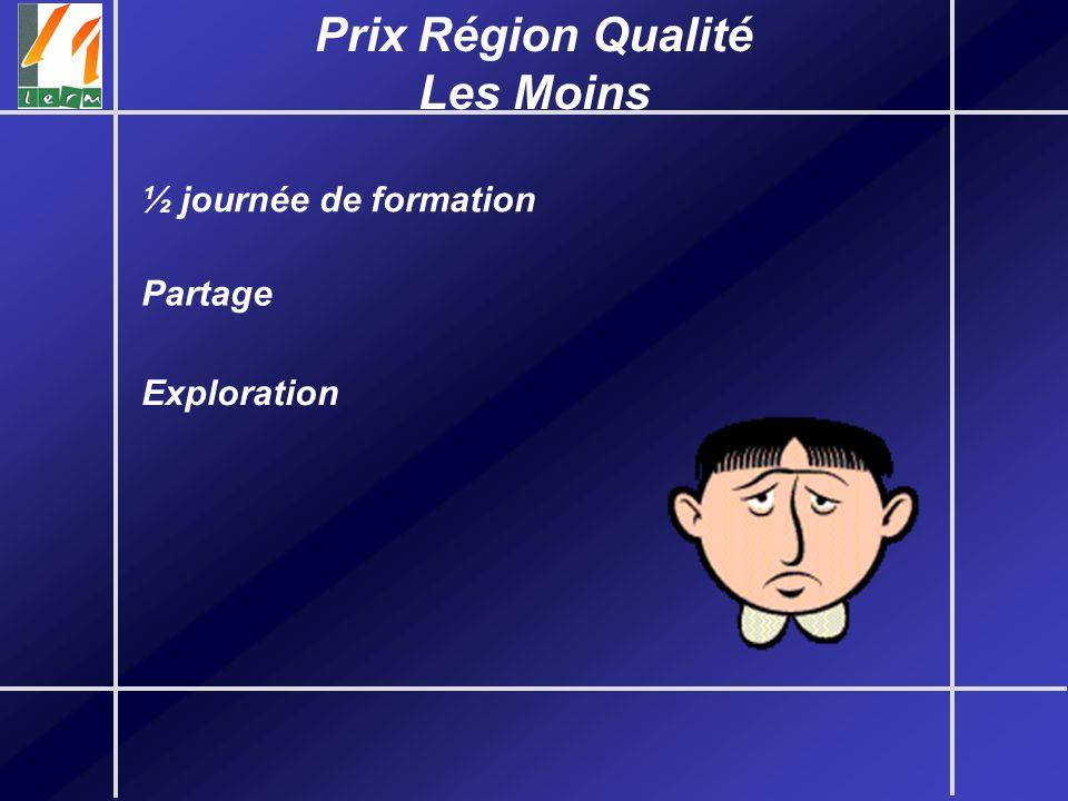 Prix Région Qualité Les Moins