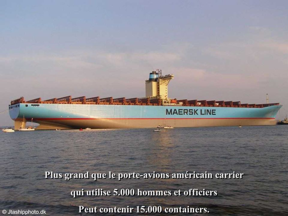 Plus grand que le porte-avions américain carrier