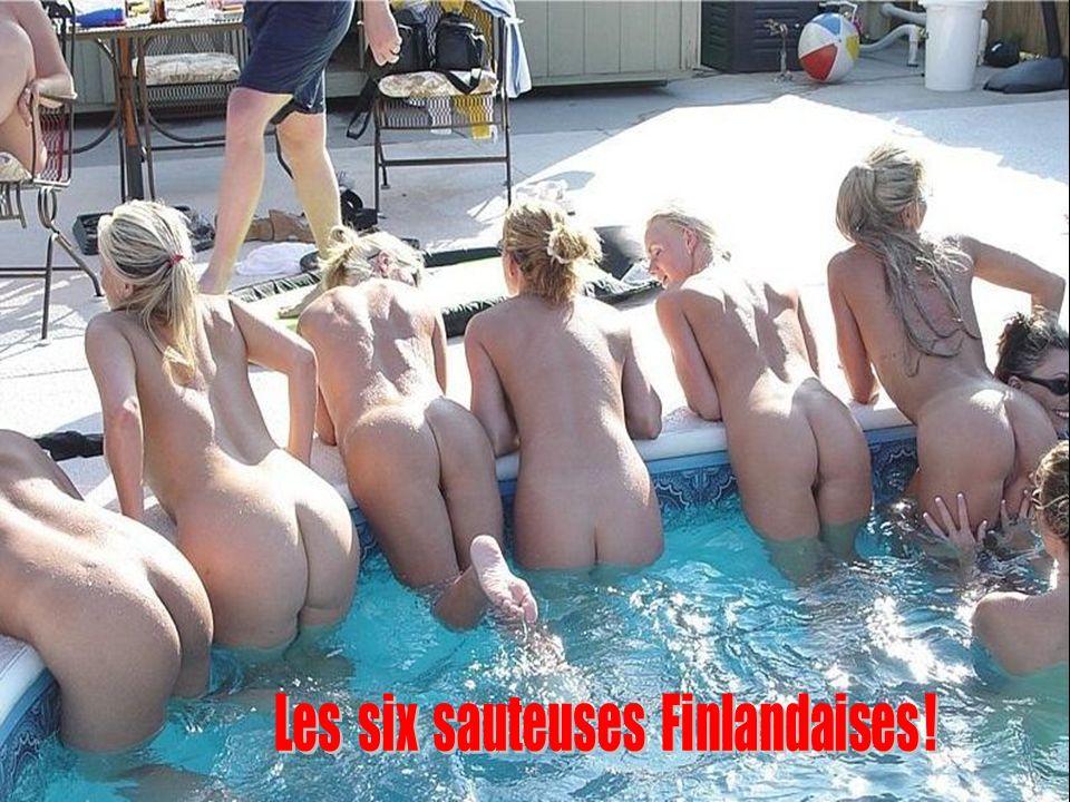 Les six sauteuses Finlandaises !