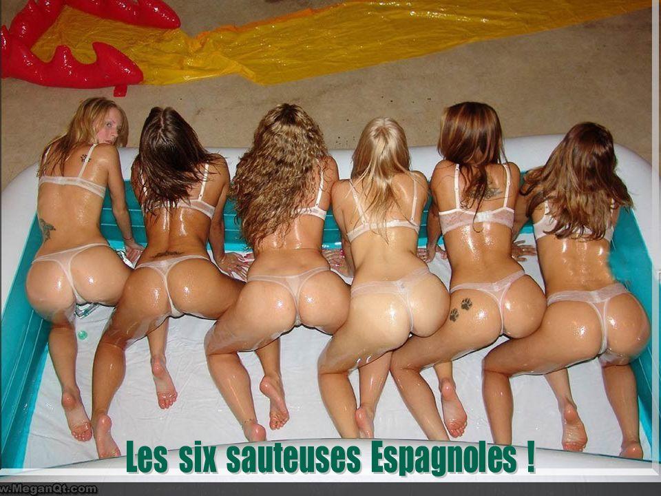 Les six sauteuses Espagnoles !