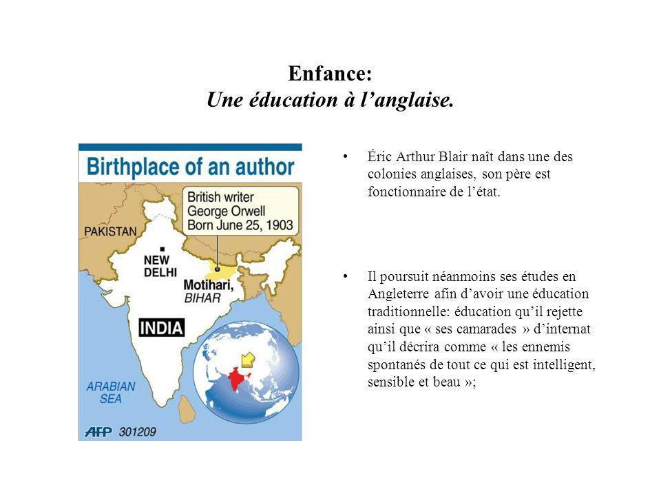 Enfance: Une éducation à l'anglaise.