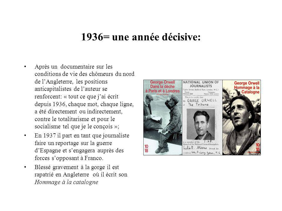 1936= une année décisive: