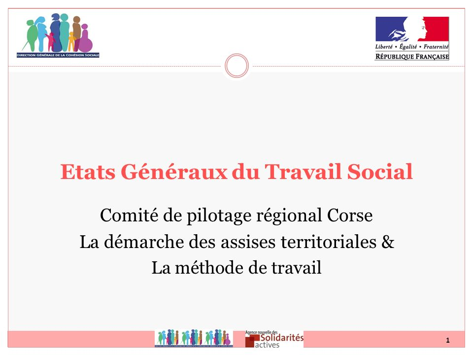 Etats Généraux du Travail Social