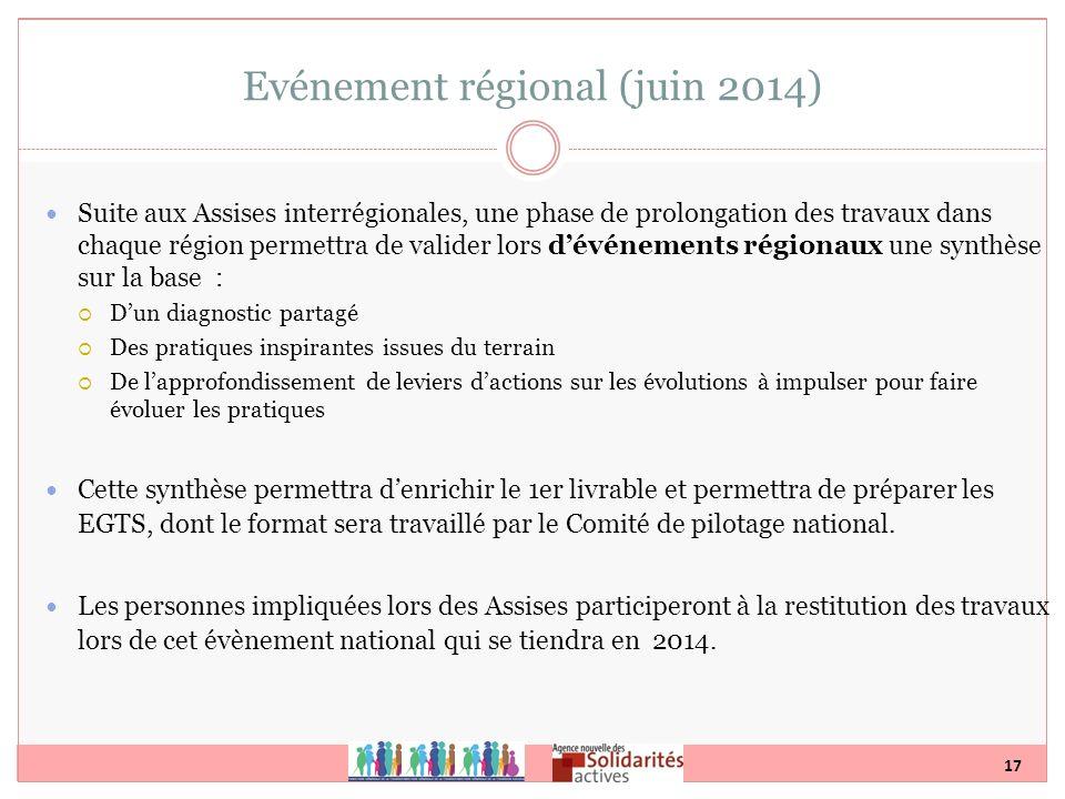Evénement régional (juin 2014)