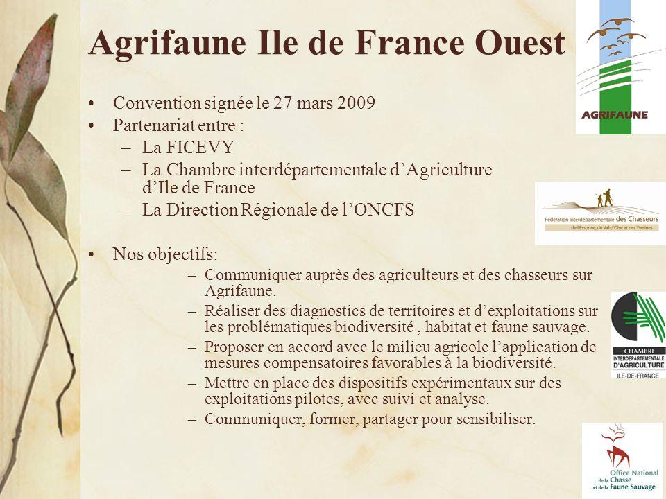Agrifaune Ile de France Ouest