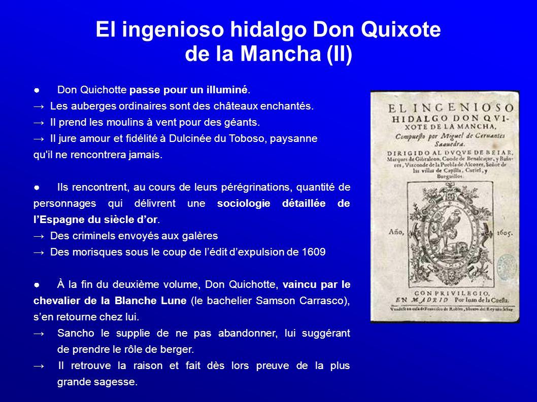 El ingenioso hidalgo Don Quixote de la Mancha (II)