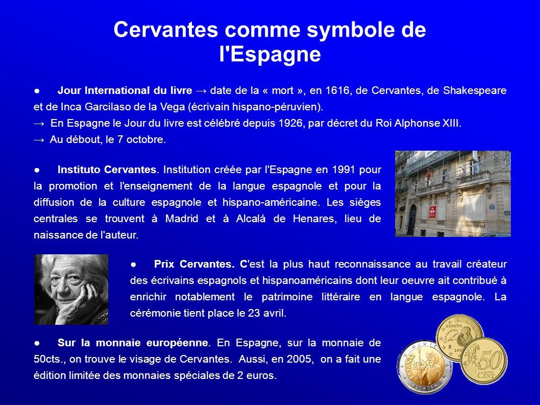 Cervantes comme symbole de l Espagne