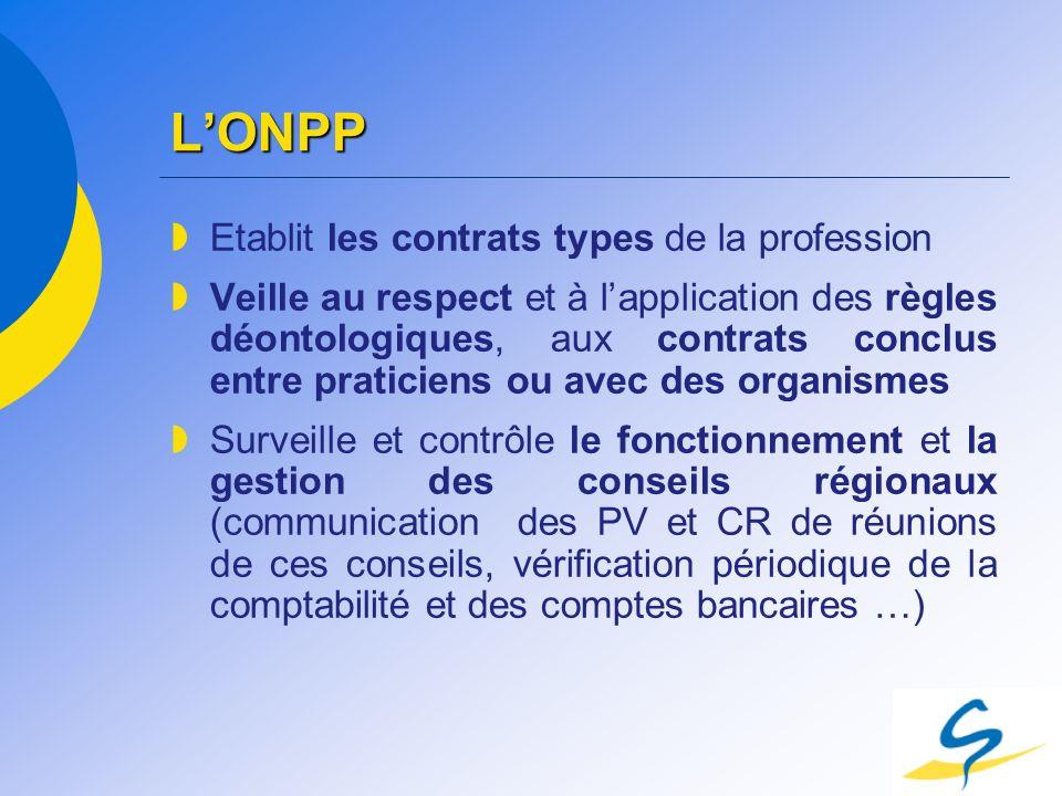 L'ONPP Etablit les contrats types de la profession