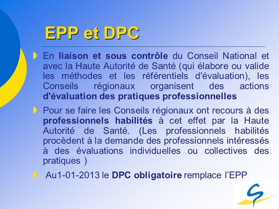 EPP et DPC