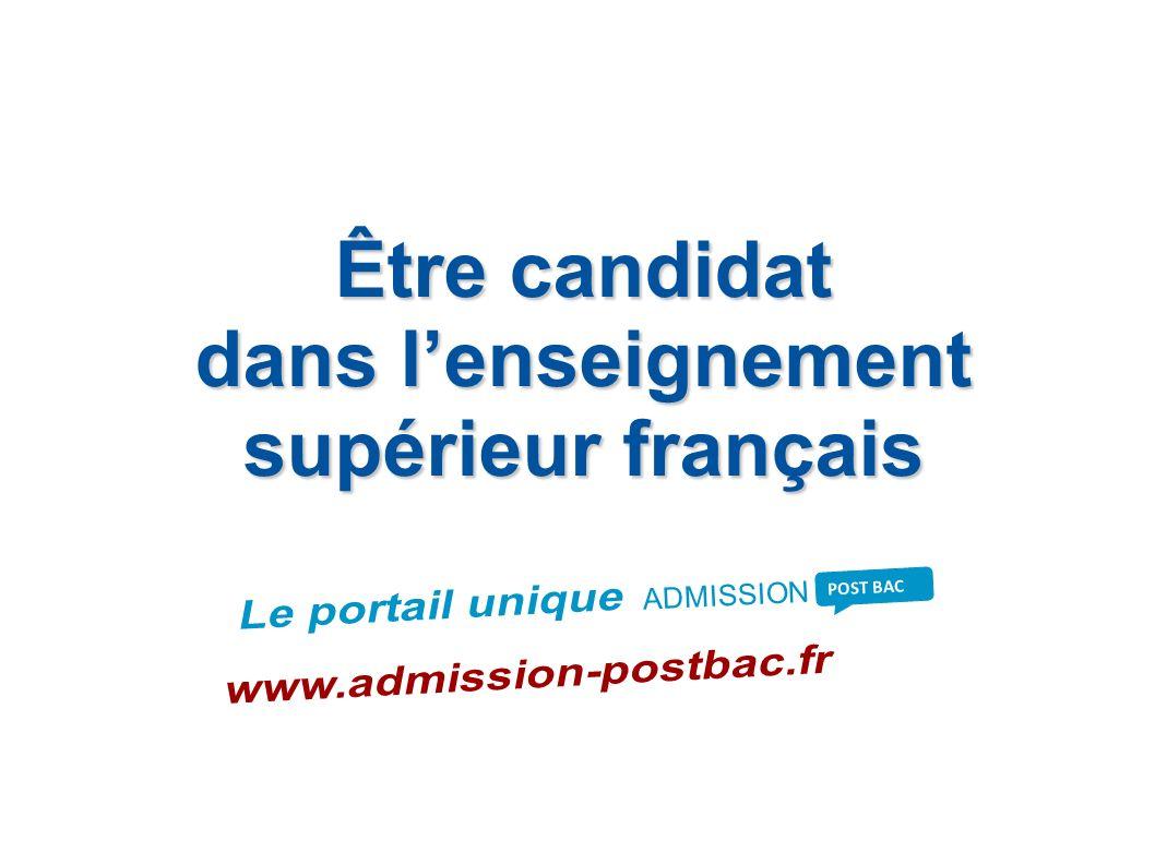 dans l'enseignement supérieur français