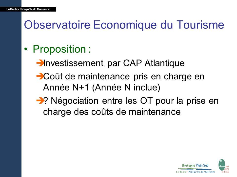 Observatoire Economique du Tourisme