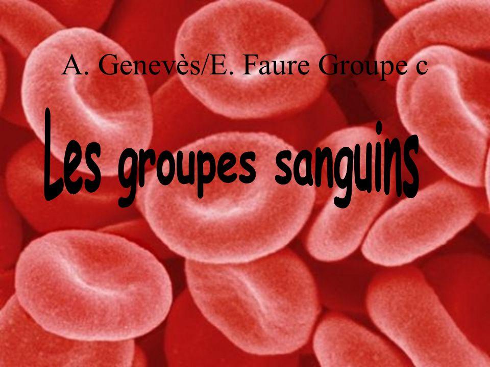 A. Genevès/E. Faure Groupe c