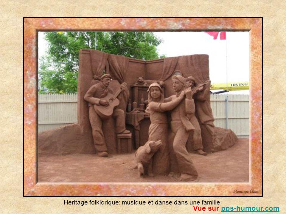 Héritage folklorique: musique et danse dans une famille