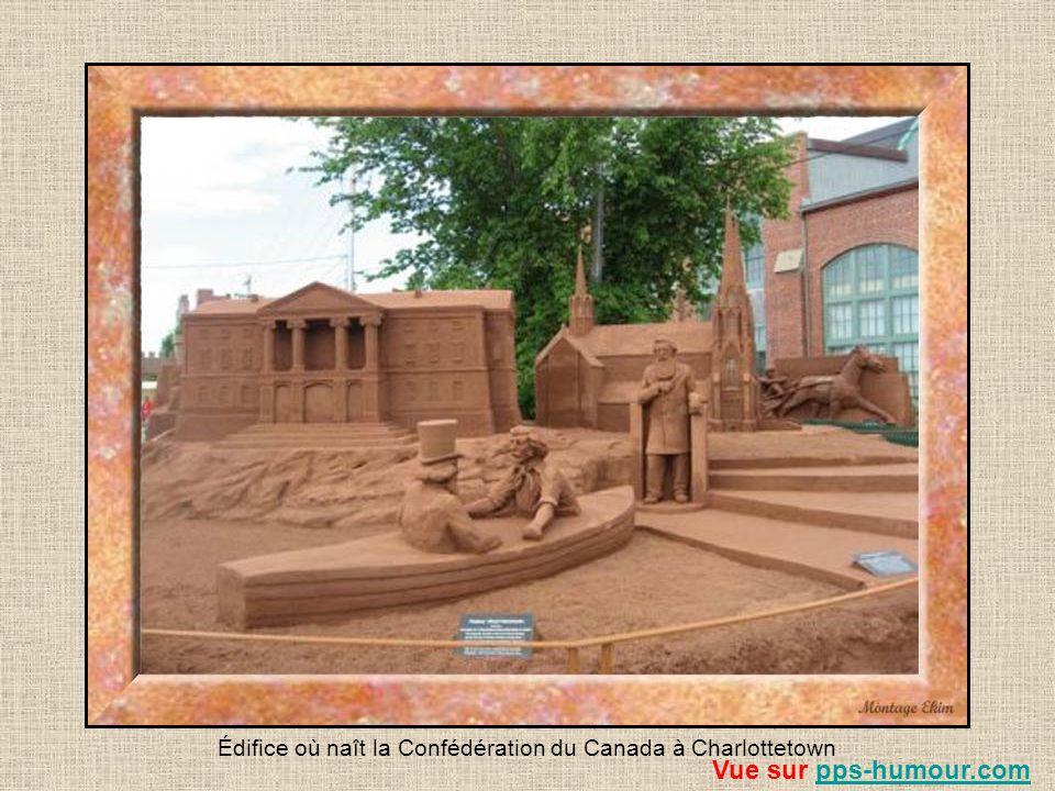Édifice où naît la Confédération du Canada à Charlottetown