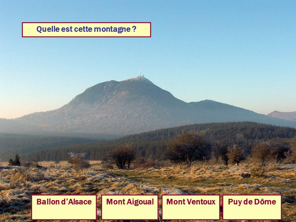 Quelle est cette montagne