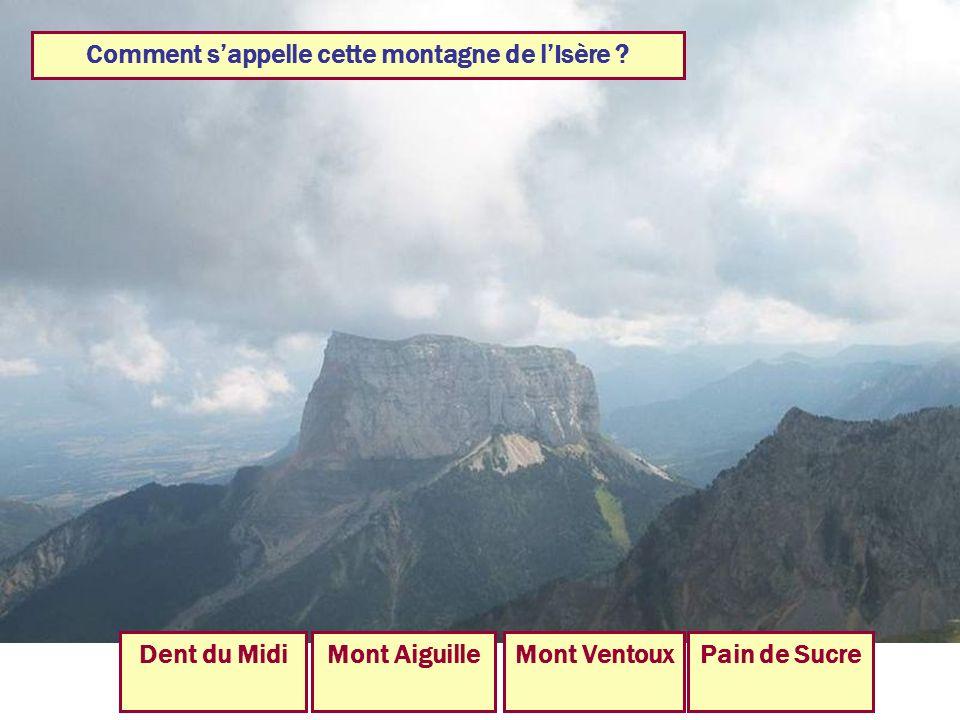 Comment s'appelle cette montagne de l'Isère